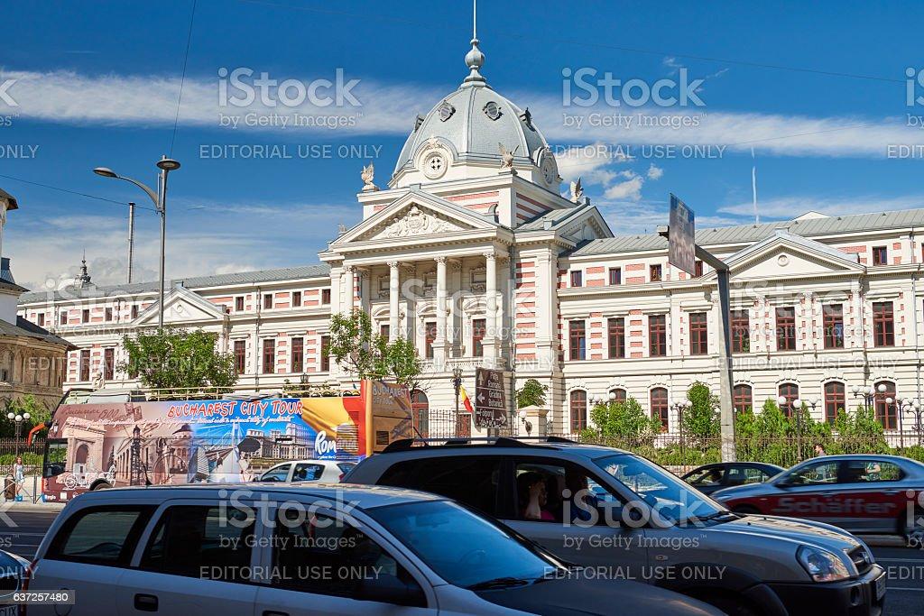 Traffic In Bucharest stock photo