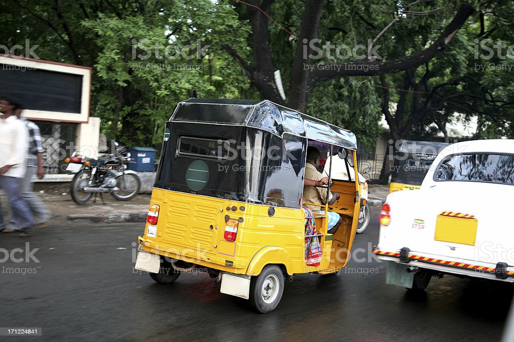 Traffic in Chennai, India royalty-free stock photo