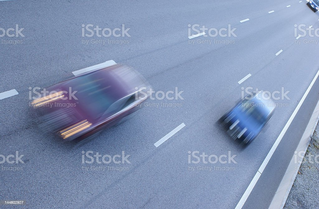traffic in motion stock photo