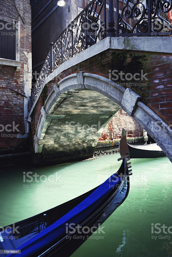 traffic in venice royalty-free stock photo