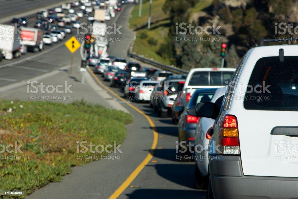 traffic jam (#17 of series) stock photo