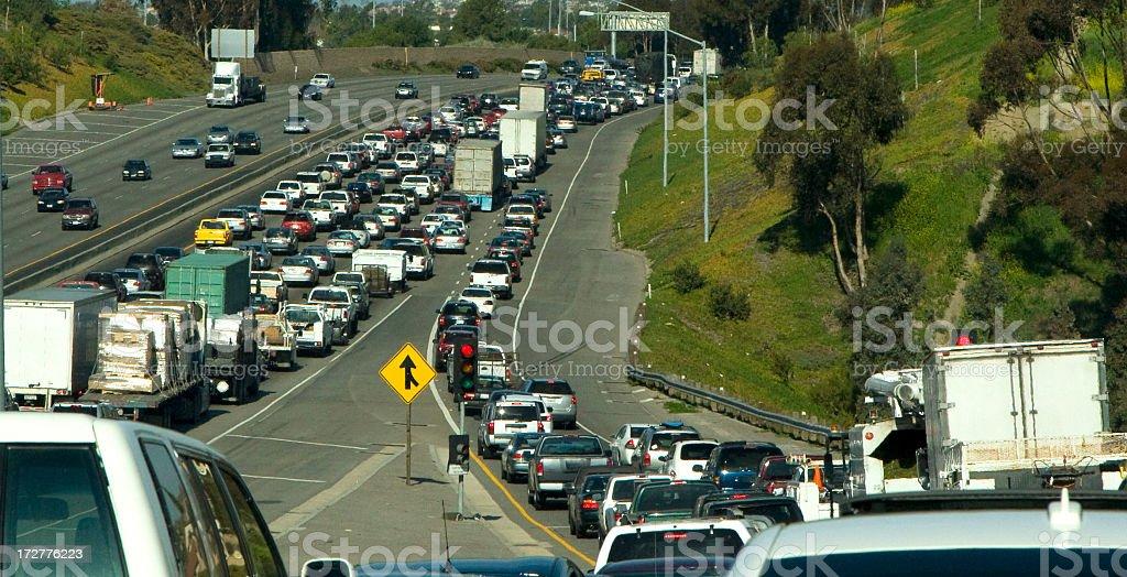 traffic jam (#32 of series) royalty-free stock photo