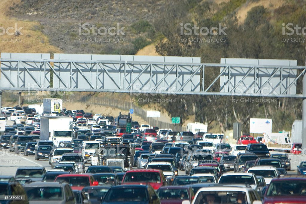 traffic jam (#46 of serise) royalty-free stock photo