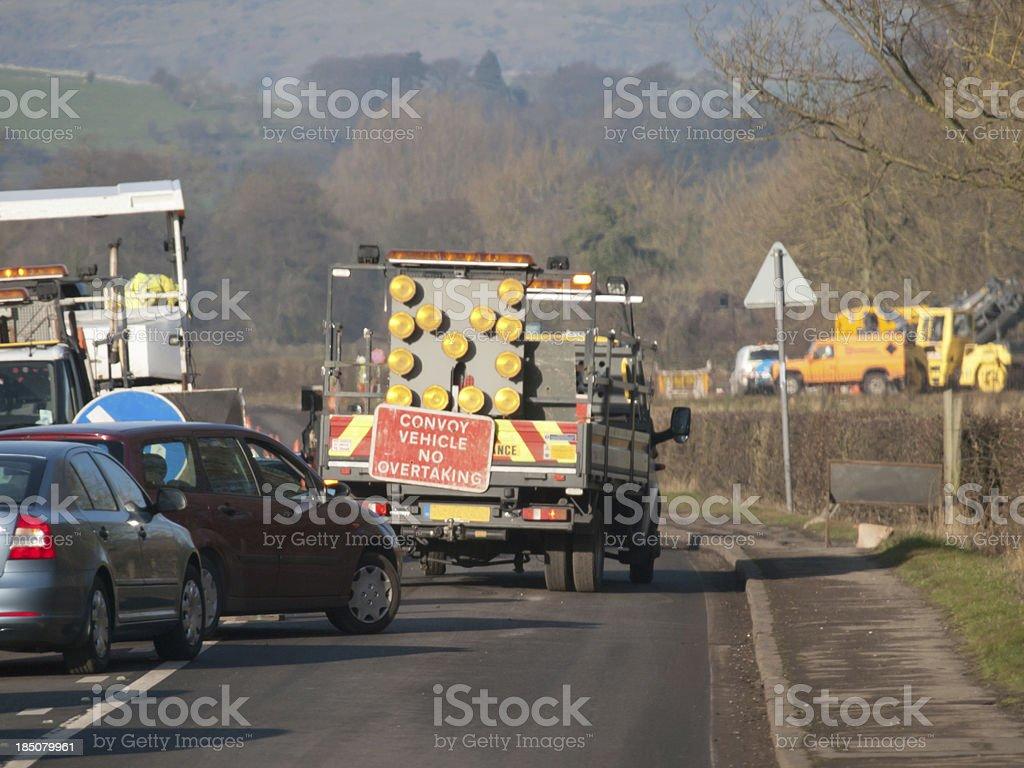 Traffic Jam stock photo