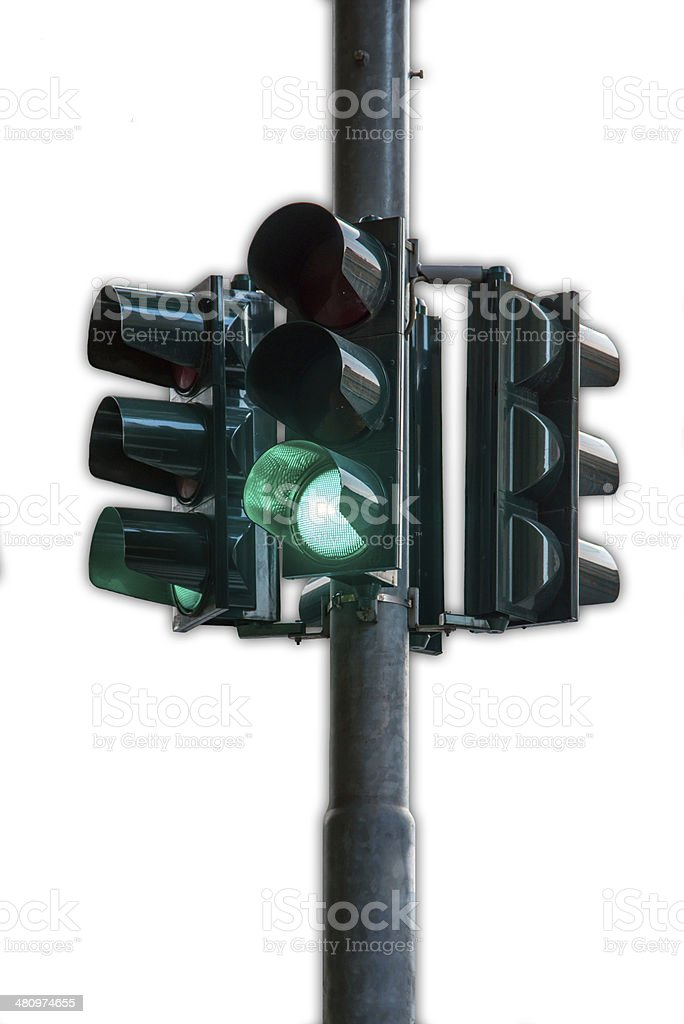 Traffic Light Green royalty-free stock photo