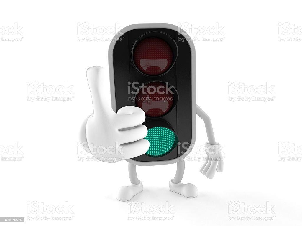 Traffic light royalty-free stock photo