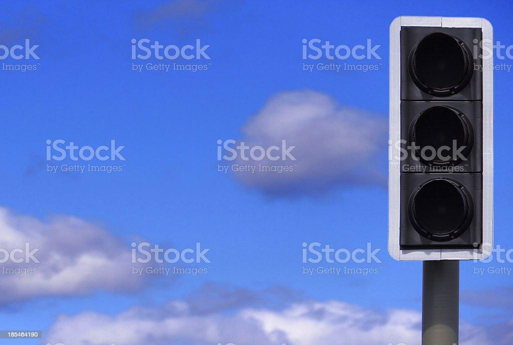 Traffic Lights, None Illuminated stock photo
