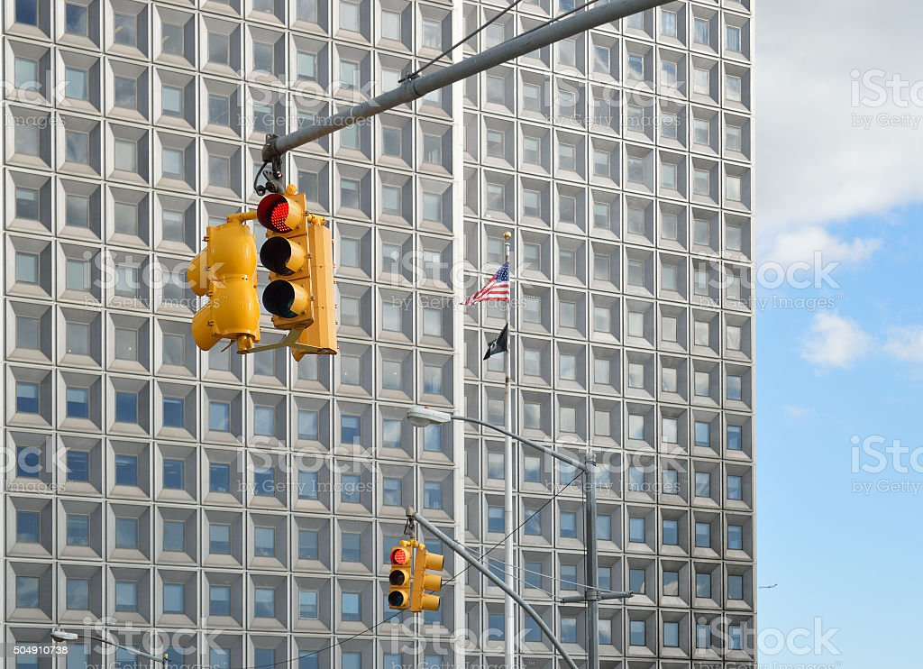 Traffic lights. stock photo