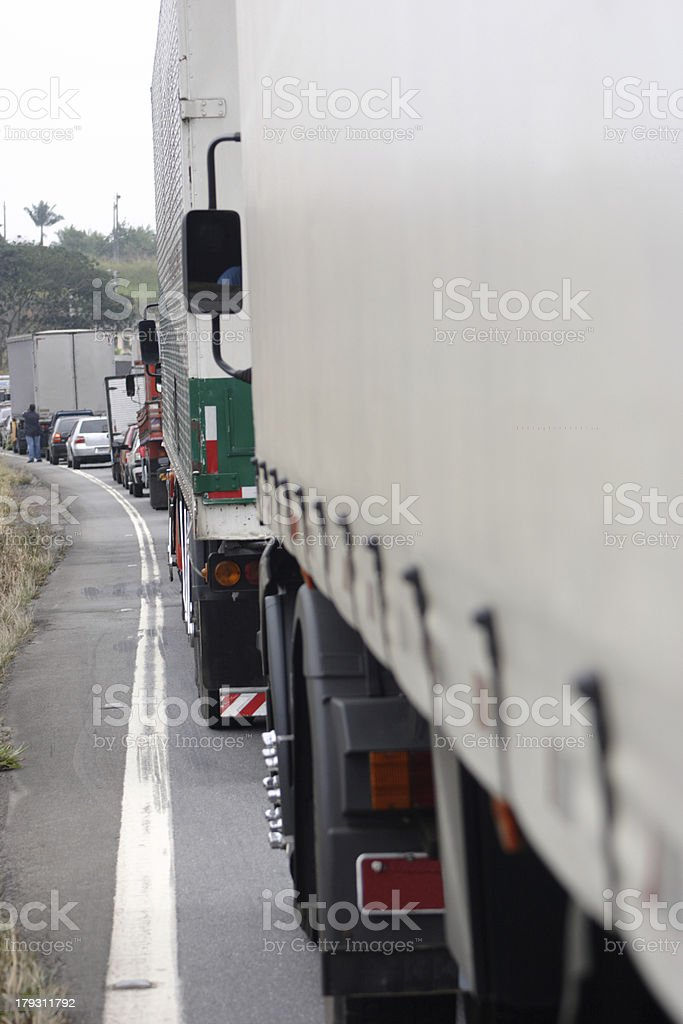 Traffic line royalty-free stock photo