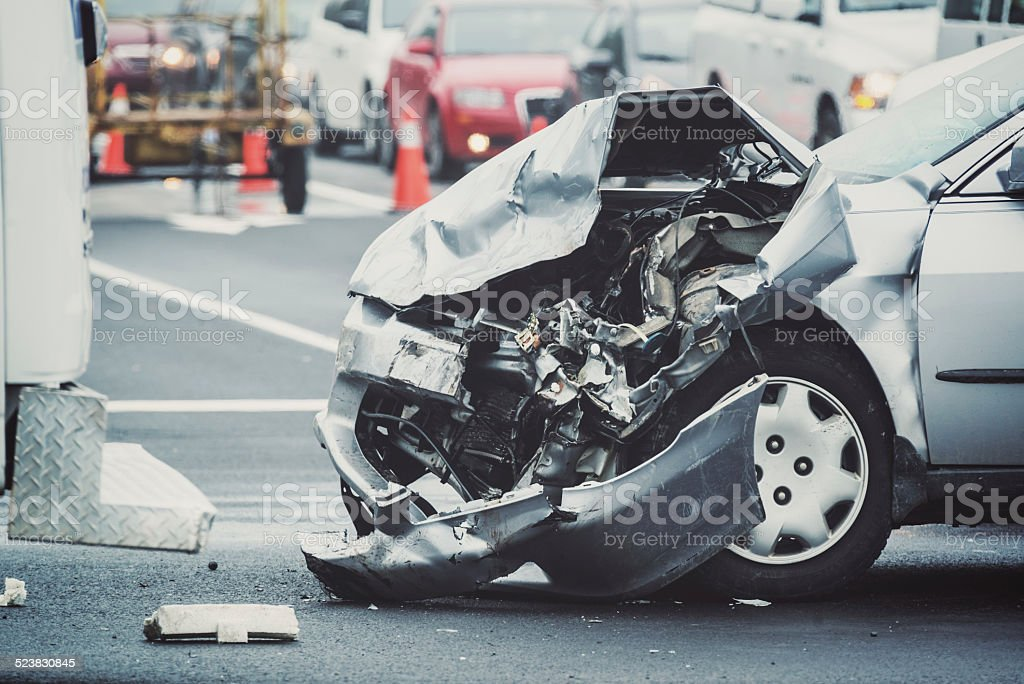 Traffic Mishap stock photo