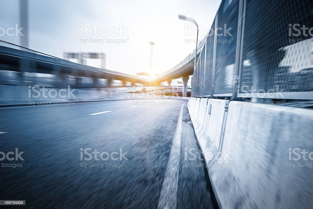 traffic of city royalty-free stock photo