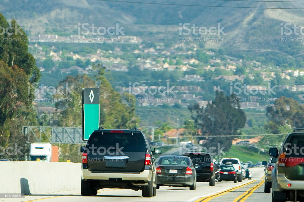 traffic (#26 of series) royalty-free stock photo