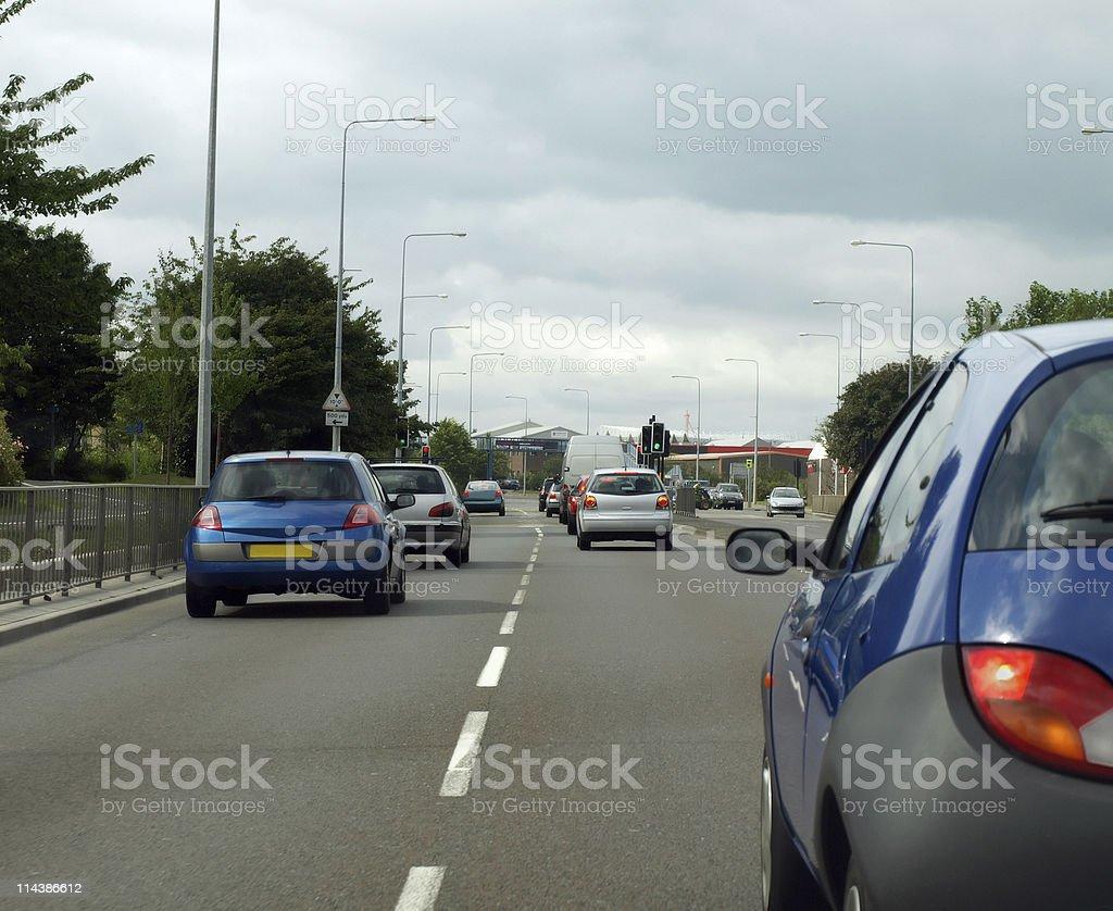 Traffic royalty-free stock photo