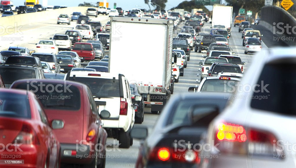 traffic (#35 of series) royalty-free stock photo