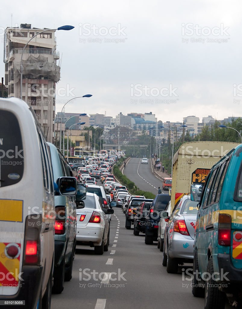 Traffic stock photo