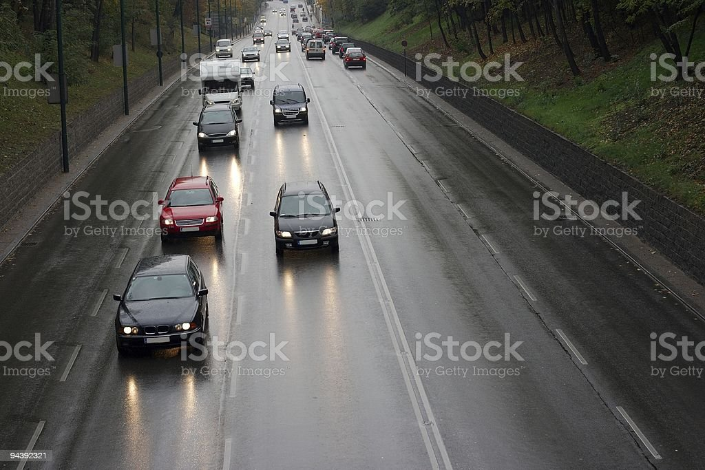 Traffic royalty-free stock photo