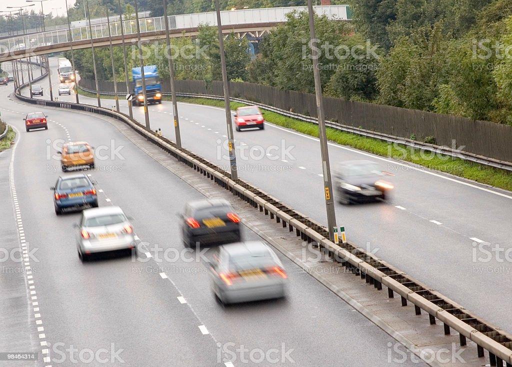 UK Traffic royalty-free stock photo