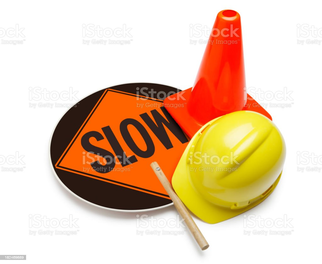 Traffic & Safety Control royalty-free stock photo