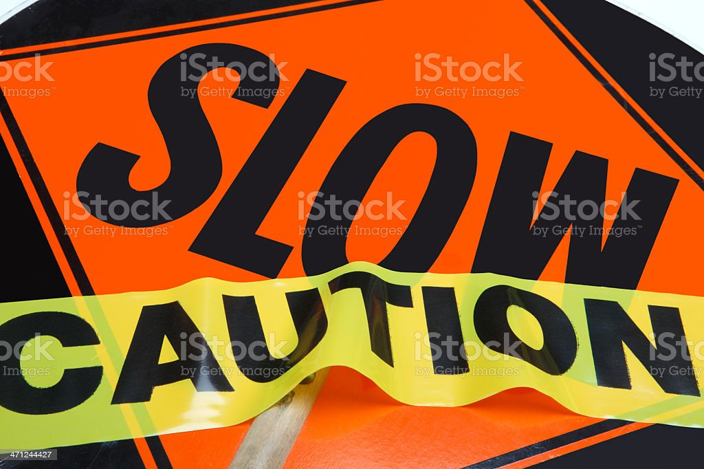 Traffic & Safety Control stock photo