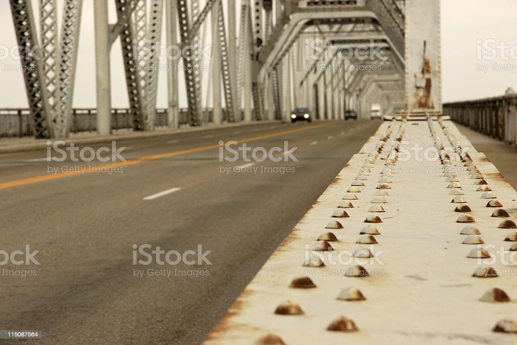 traffic scenes - bridge highway royalty-free stock photo