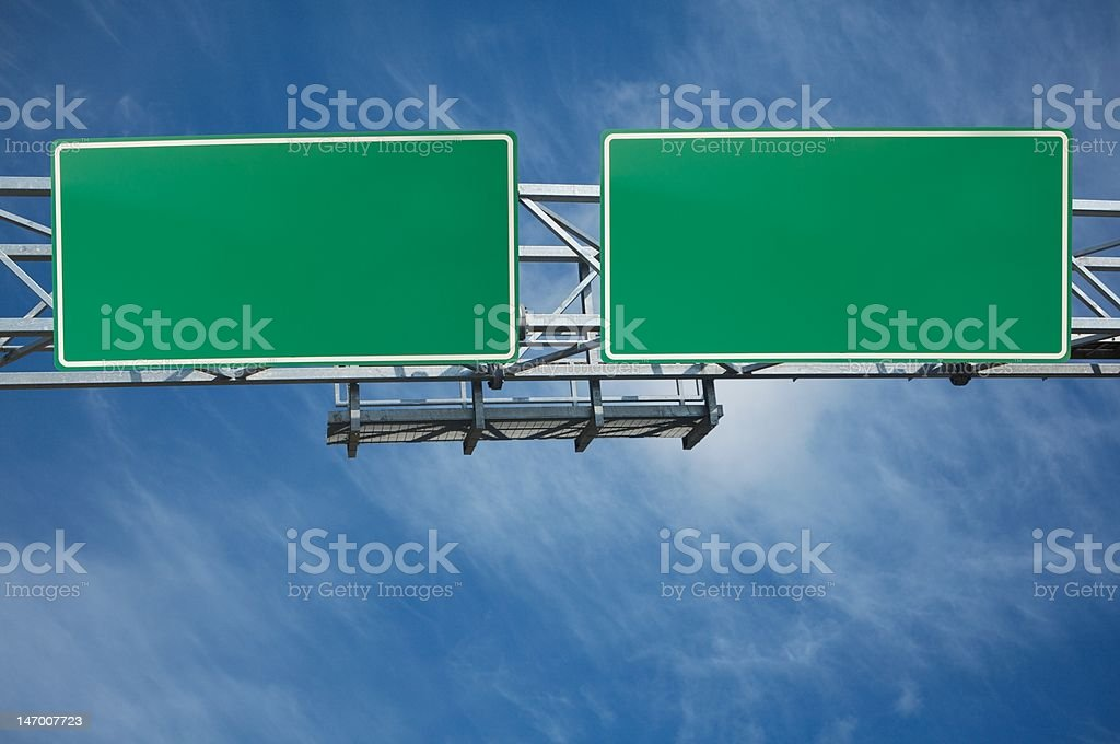 traffic sign stock photo