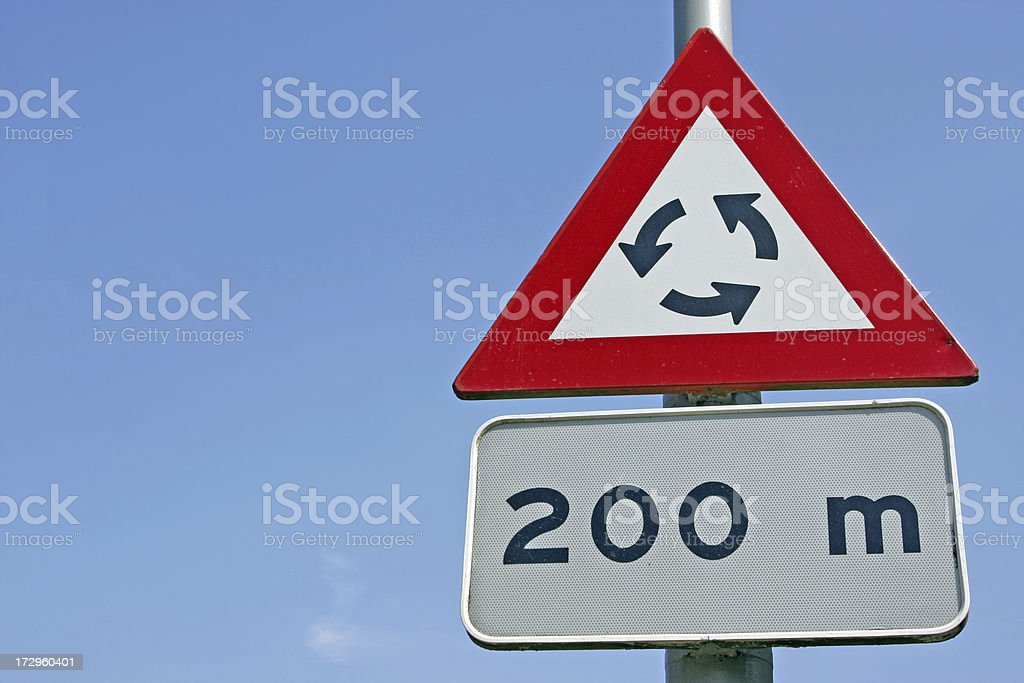 Traffic sign XL royalty-free stock photo