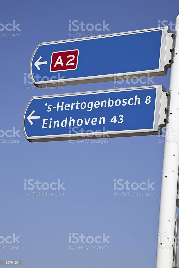 Traffic sign # 1 XXXL stock photo