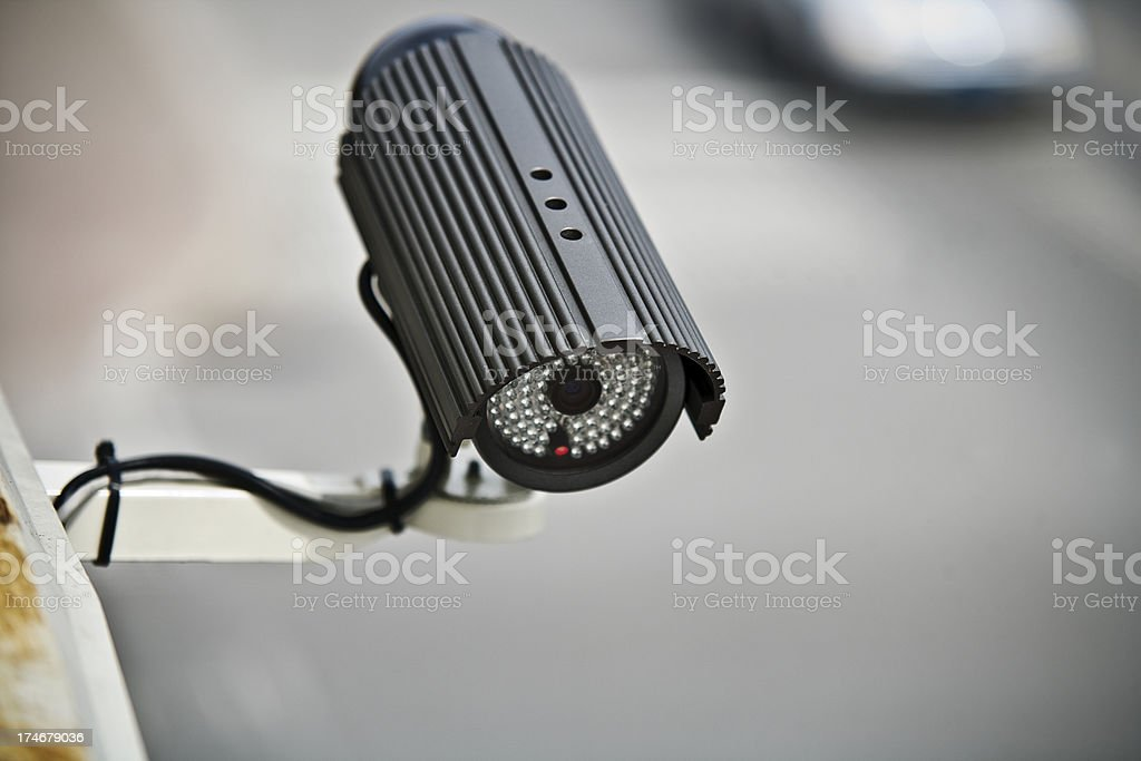 Traffic Speed Detector royalty-free stock photo