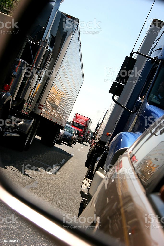 Traffic Vertical royalty-free stock photo