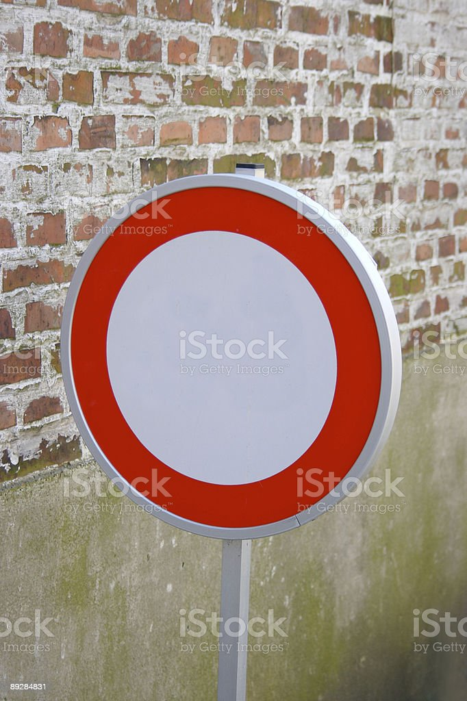 Traffical Sign stock photo