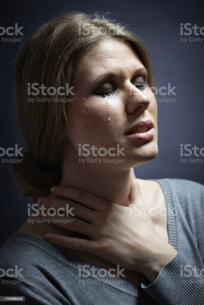 Tragedy royalty-free stock photo