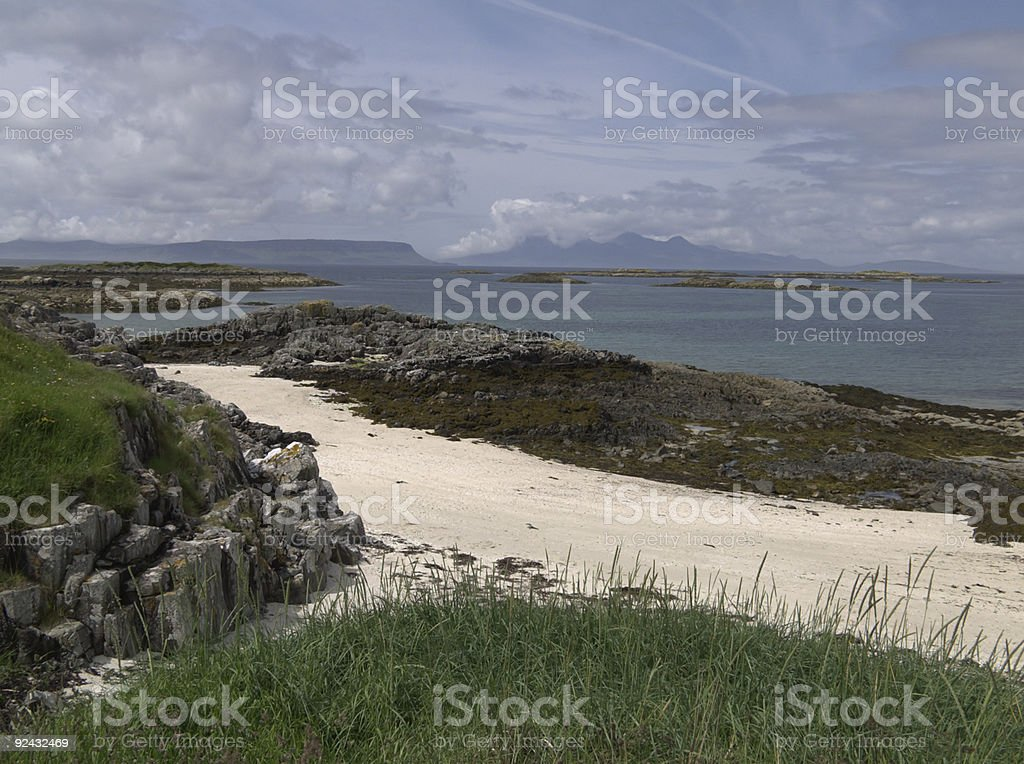 Traigh Beach, Morar royalty-free stock photo