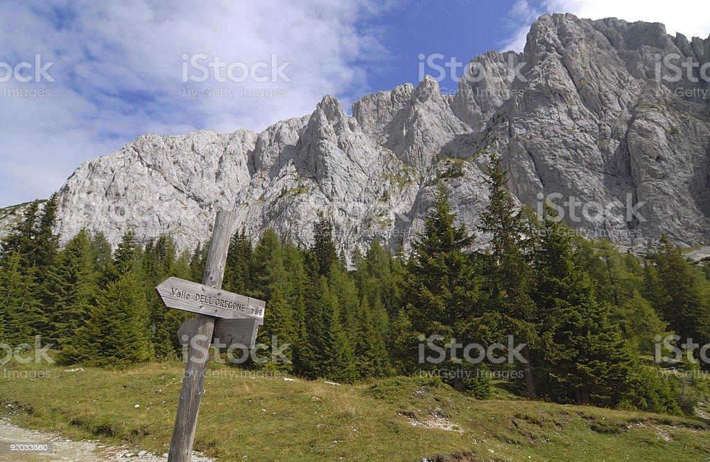 Trail blazing stock photo