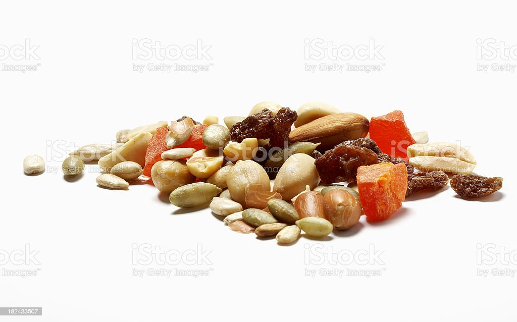 Trail Mix with Dried Fruit royalty-free stock photo