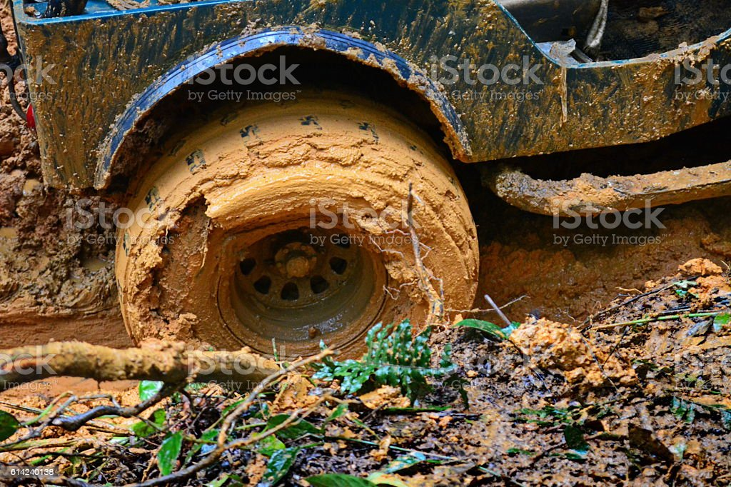 Trail off road 4x4 stock photo