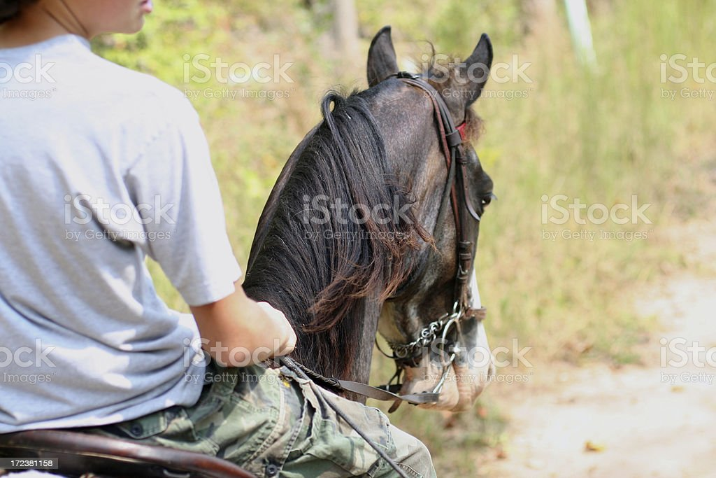 trail ride 3 royalty-free stock photo