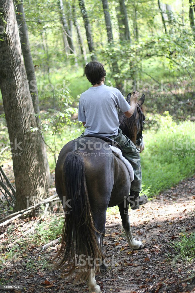 trail ride 4 royalty-free stock photo