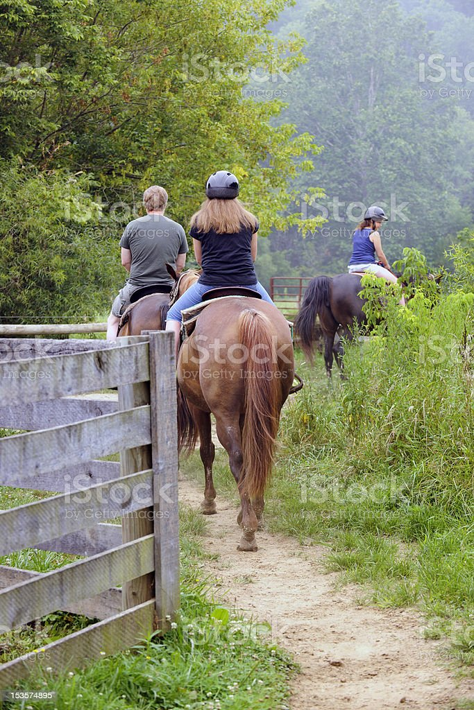 Trail Riders stock photo