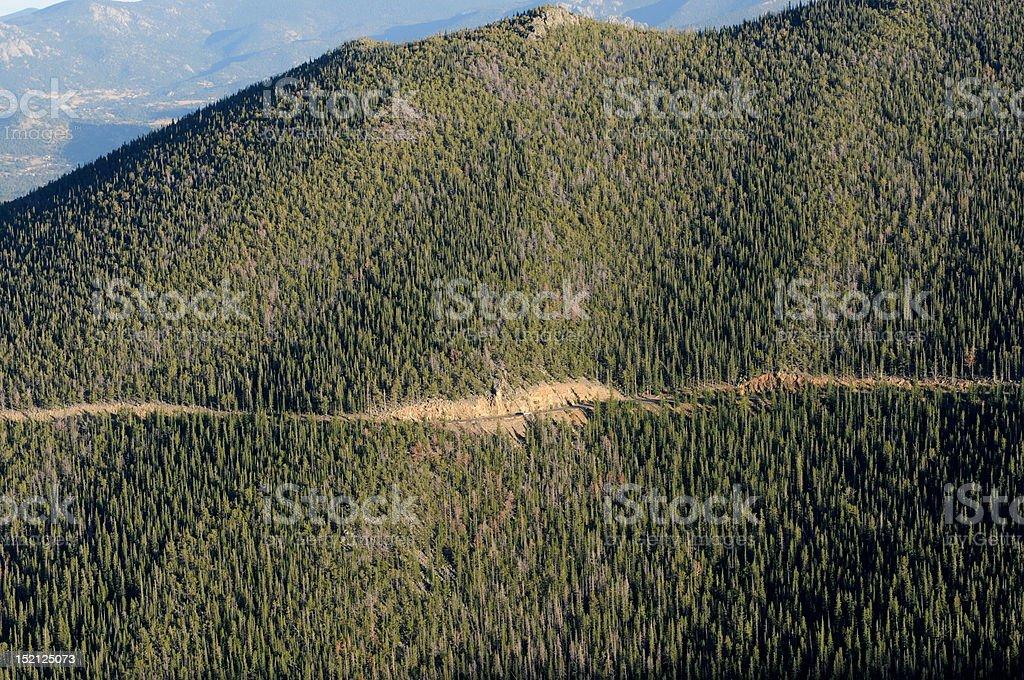 Trail Ridge Road royalty-free stock photo