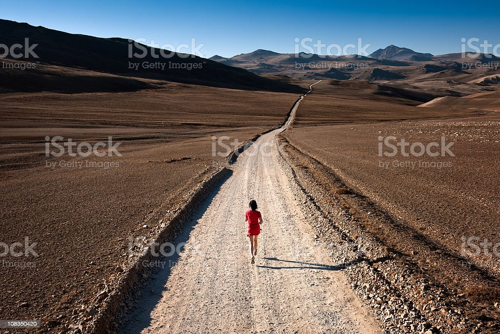Trail Runner stock photo