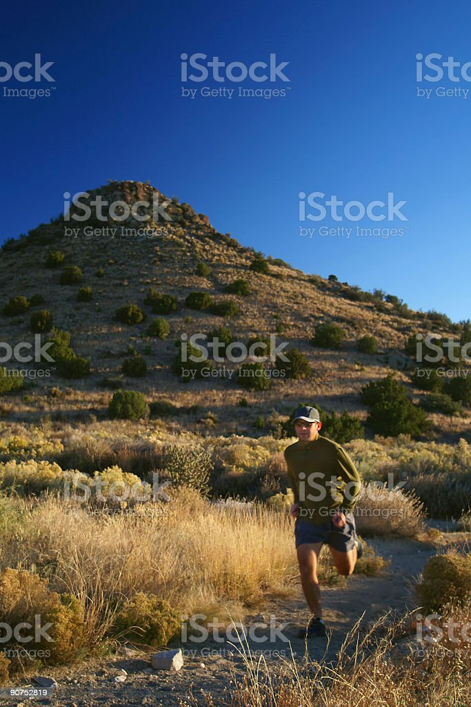 trail runner! royalty-free stock photo