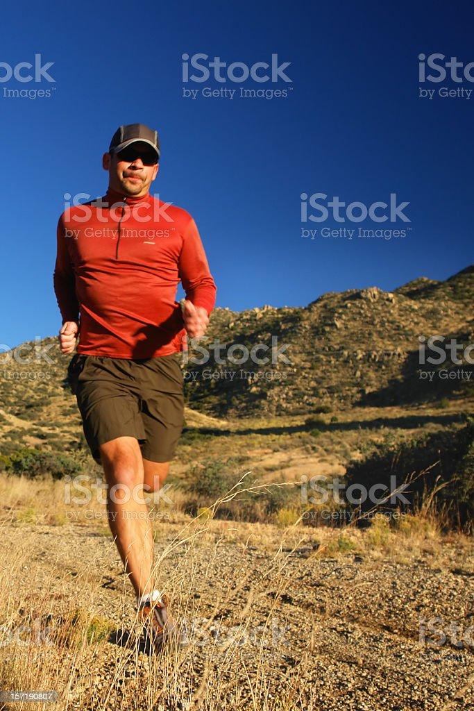 trail running! royalty-free stock photo