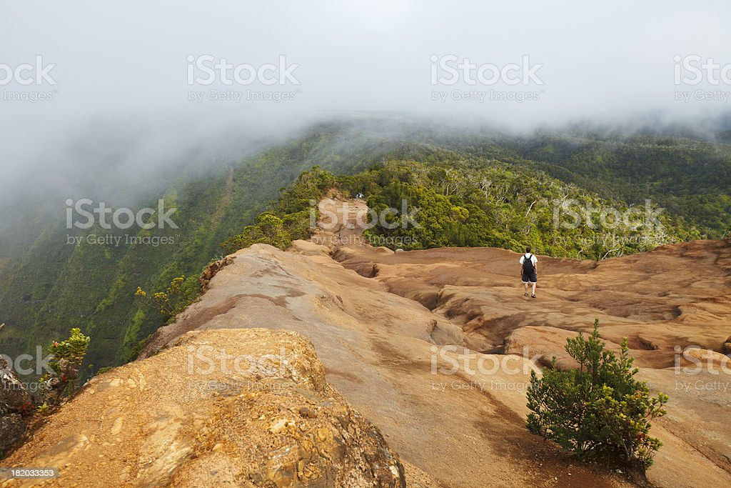 Trail to Heaven stock photo
