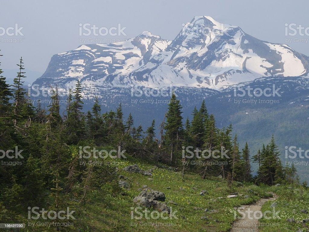 trail to heaven's peak royalty-free stock photo