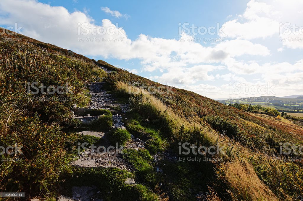 Trail to Little Sugar Loaf royalty-free stock photo