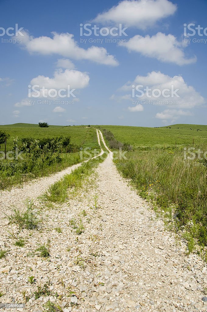 Trail West stock photo