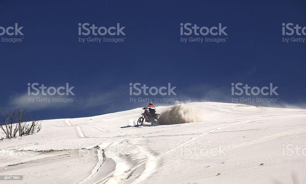 Trailbike Rider stock photo