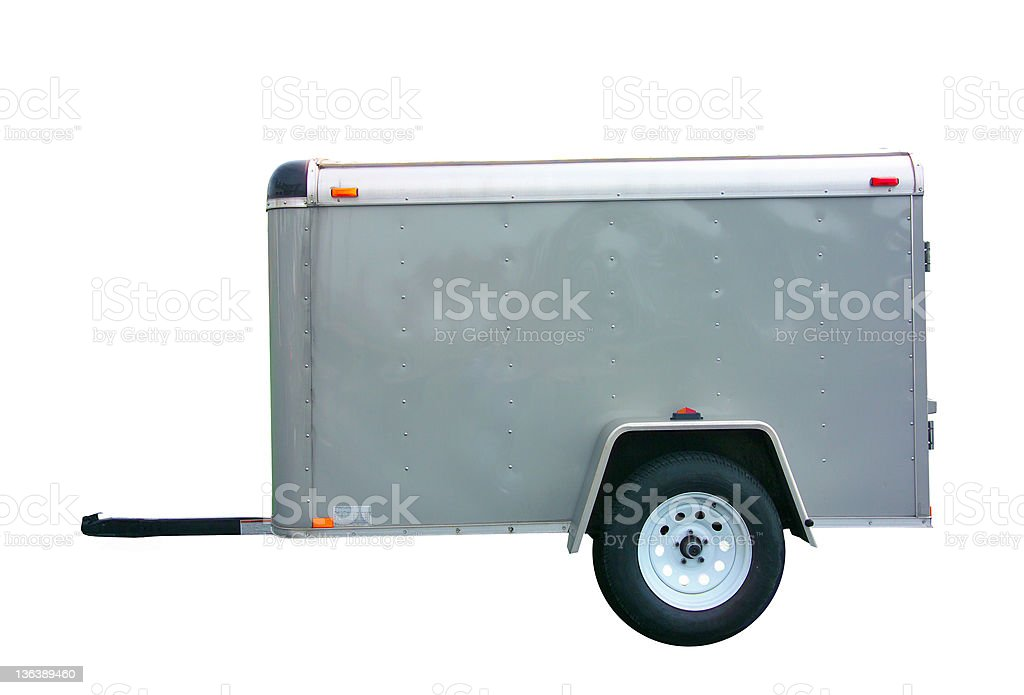 trailer stock photo