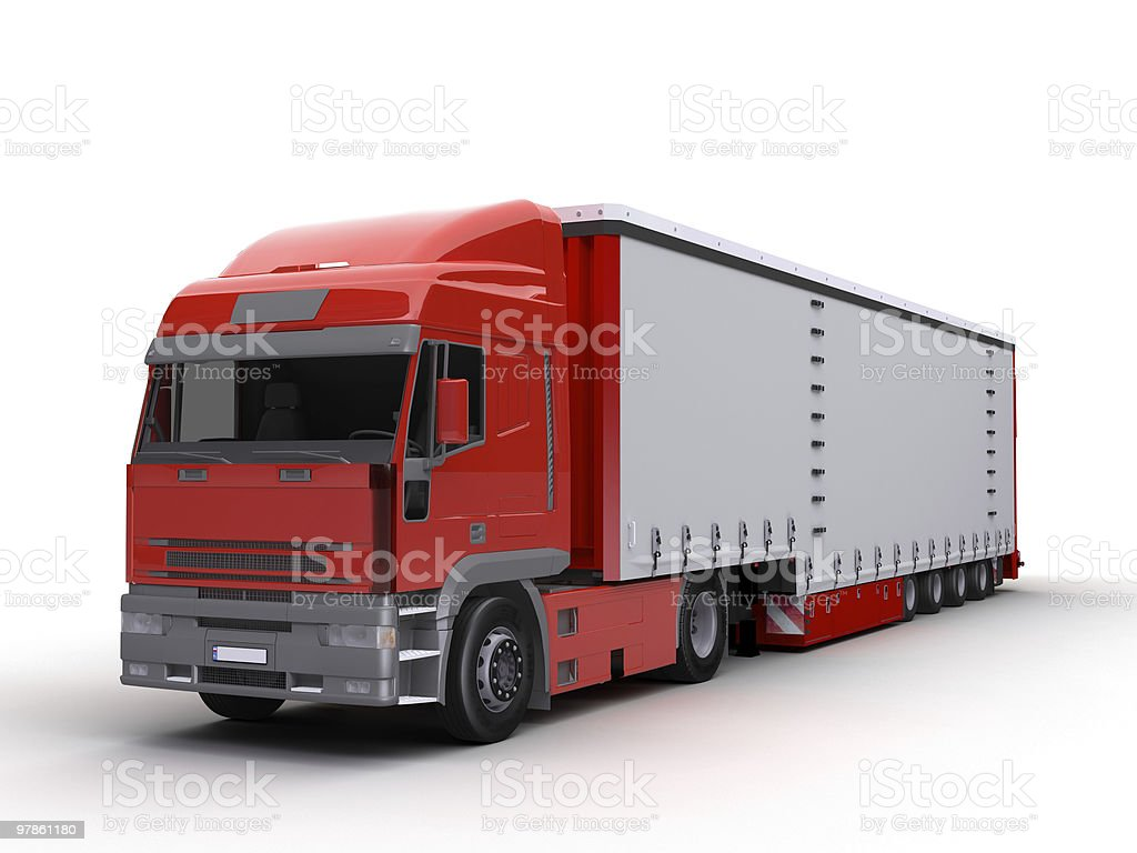 trailer royalty-free stock photo