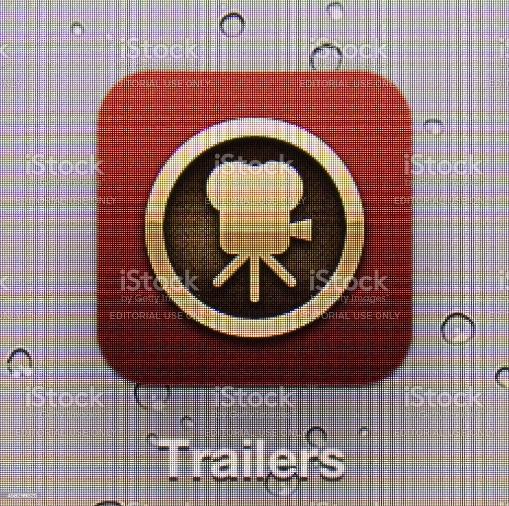 Trailers royalty-free stock photo